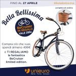 #BellaBellissima: BeCruiser in regalo se spendi almeno 499 euro
